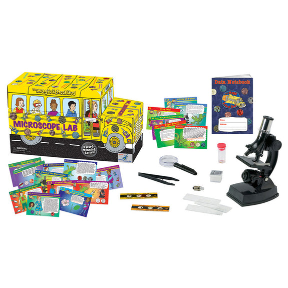 Educational-Science Lab-Magic School Bus-Microscope Set
