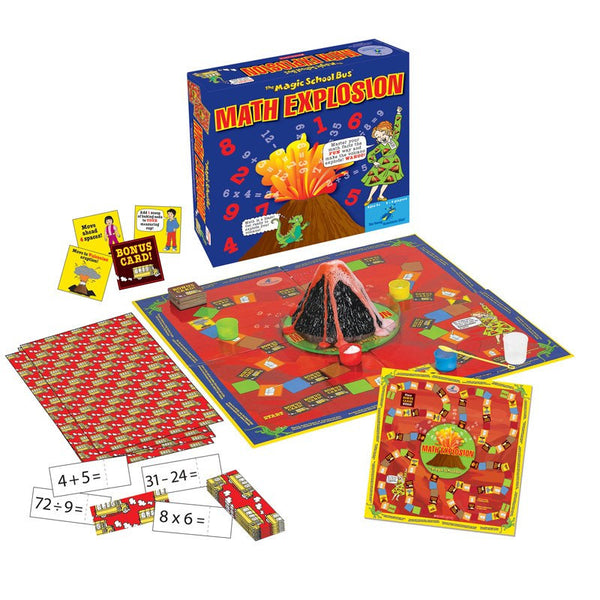 Math Explosion-Educational Game-The Magic School Bus-Ages 5-10