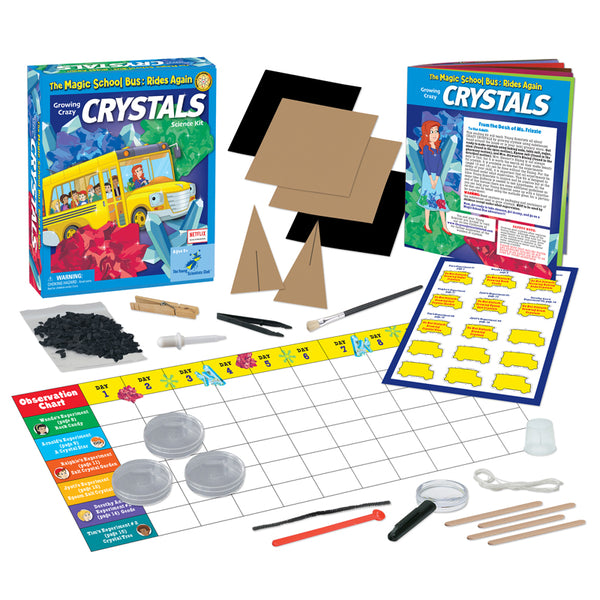 The Magic School Bus Growing Crazy Crystals for Ages 5-10 - Seasonal Expressions