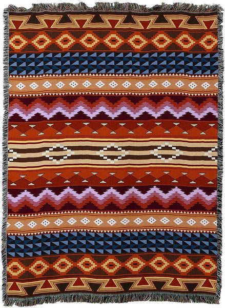 Throw Blanket-54 x 72-Southwest-Yuma Blanket