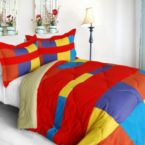 Bed Linen-2-3 Piece Comforter Set-Twin-Full/Queen-Antique Young