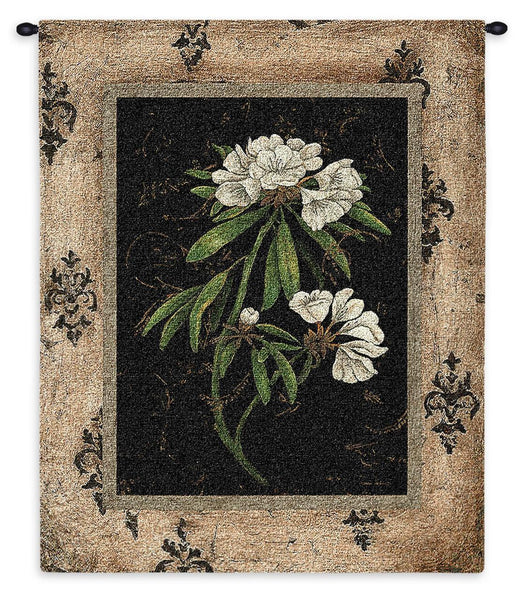 Tapestry-Wall Hanging-26 x 33-The Cozy Home-Silver Rhododendron