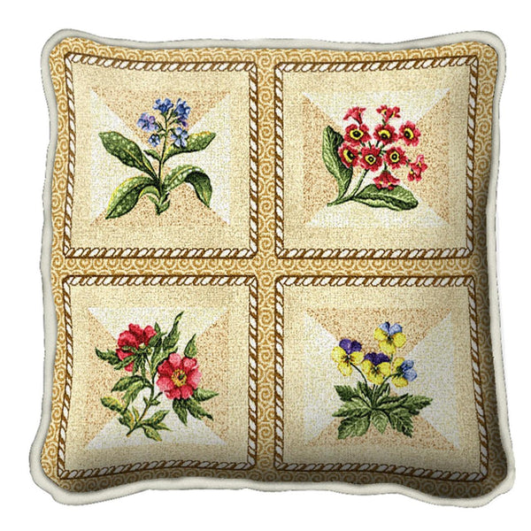 Throw Pillow-17 x 17-The Cozy Home-French Floral