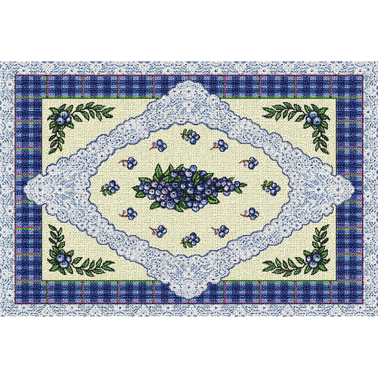 Table Linen-Placemat-Cozy Home-Blueberry Lace