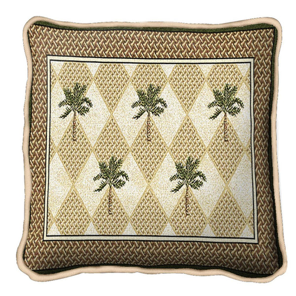 Throw Pillow-17 x 17-The Cozy Home-Colonial Palms