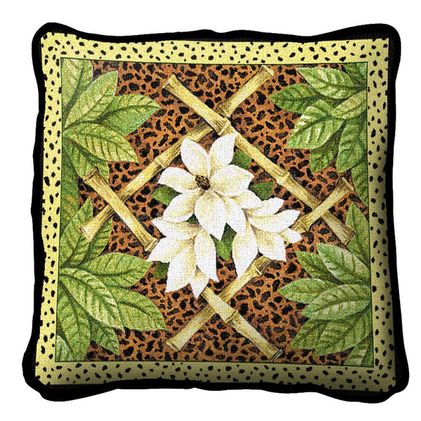 Throw Pillow-17 x 17-The Cozy Home-Bamboo