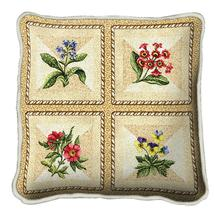 Throw Blanket-54 x 72-Matching-Throw Pillow-The Cozy Home-French Floral