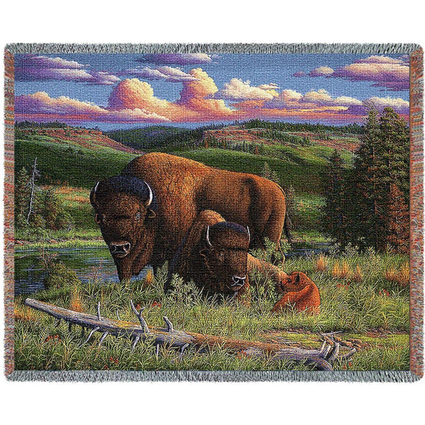 Throw Blanket-70 x 53-Western-Buffalo Nation