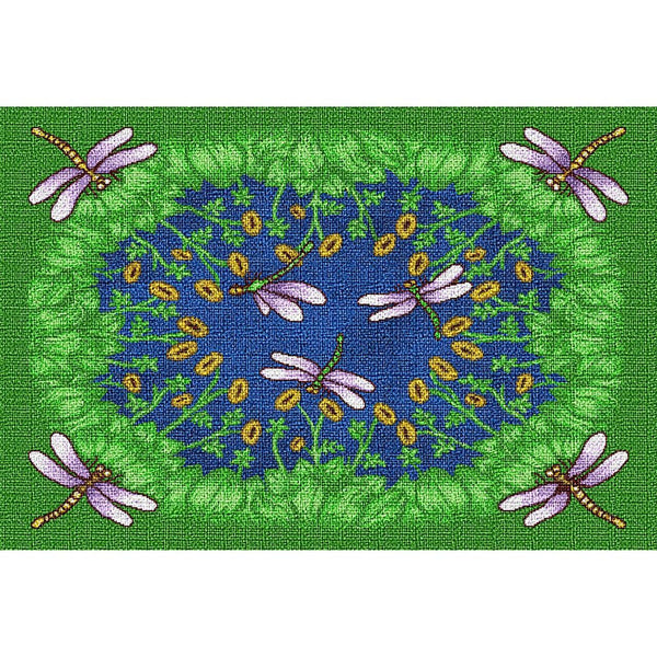 Table Linen-Placemat-Cozy Home-Dancing Dragonfly
