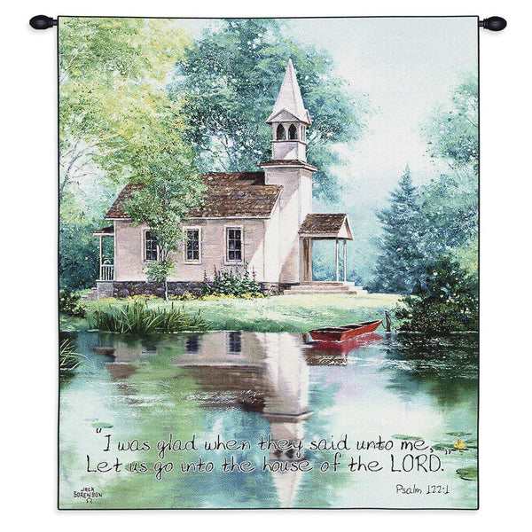 Christian Decor-Choice-Tapestry-Wall Hanging-Throw-Lakeside Scripture