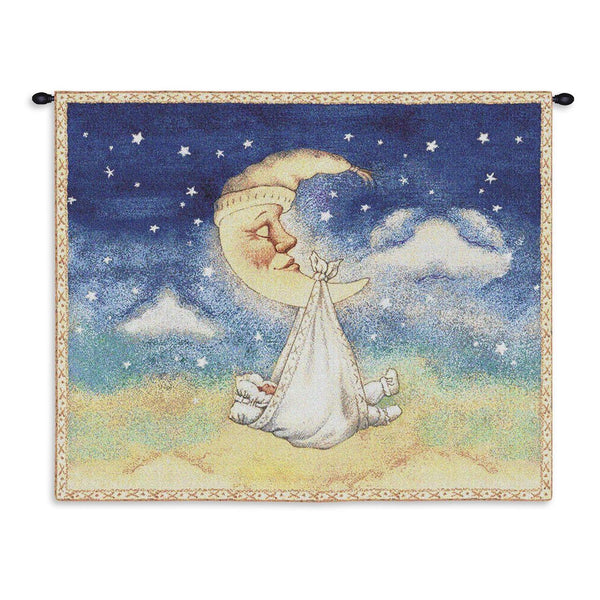 Tapestry-Wall Hanging-33 x 26-Babies-Children-Nighty Night