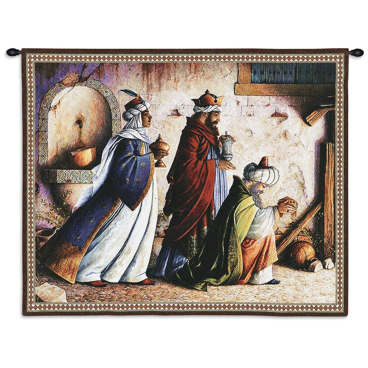Tapestry-Christian Decor-Christmas-Three Kings