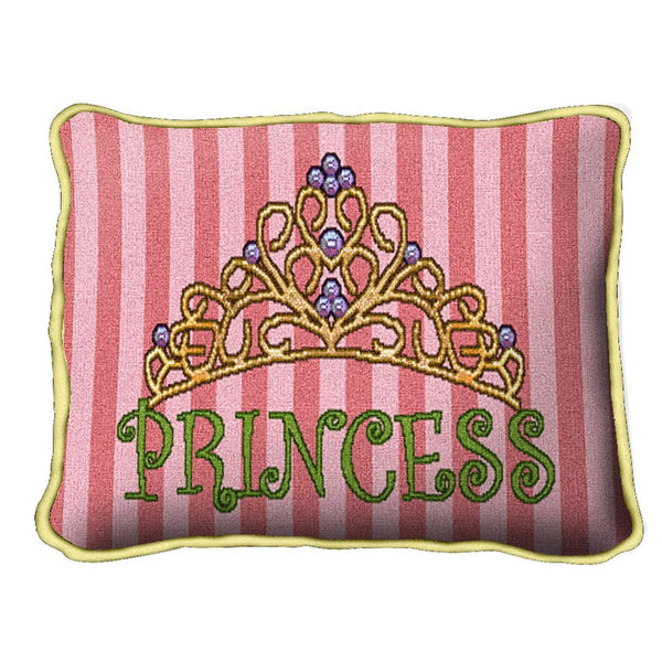 Throw Pillow-12 x 18 Babies-Children-Princess