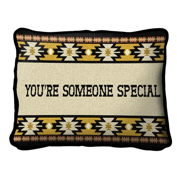 Throw Pillow-12 x 8-Friends-Family-Someone Special