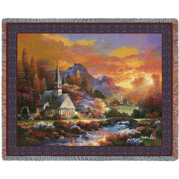 Throw Blanket-Christian-Morning of Hope-The Cozy Home