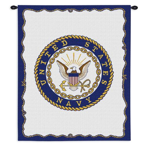 Tapestry-Wall Hanging-26 x 34-Those Who Serve-Military-Navy