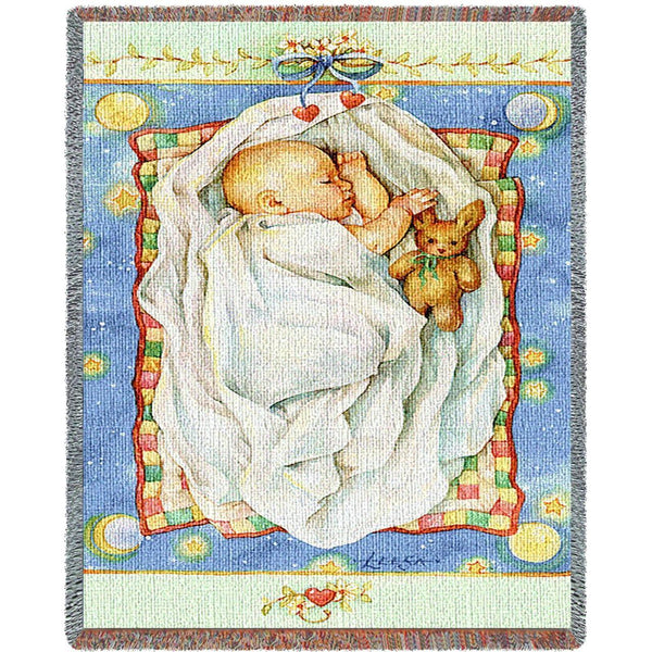 Throw Blanket-35 x 54-Babies-Children-Dreamland