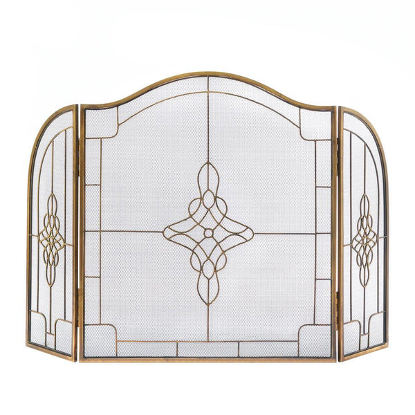 Fireplace Accessories-Screen-Art Deco