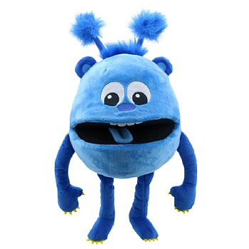 Monster Hand Puppet-Blue Baby-Age 1 Year Plus