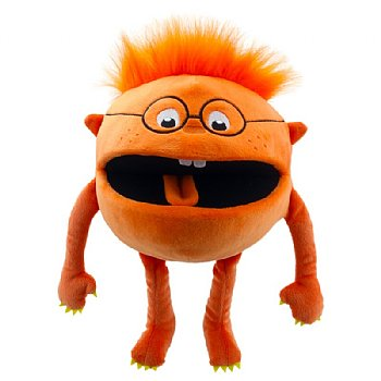 Monster Hand Puppet-Orange Baby-Ages 1 Plus