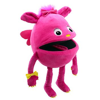 Monster Hand Puppet-Pink Baby-Ages 1 Plus