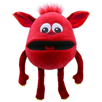 Puppet-Monster Hand Puppet-Red Baby-Ages 1 Plus