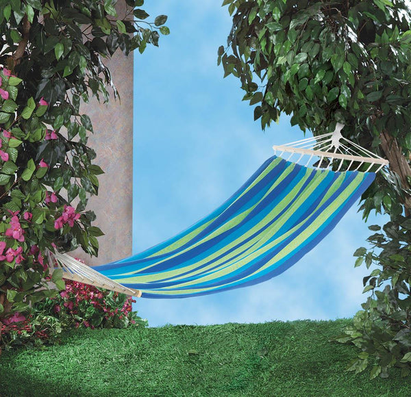 Hammock-Single-Cotton-Bahama Blue