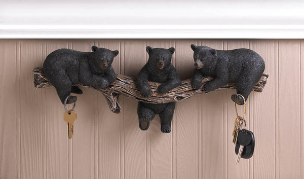 The Bath-Wall Hook-Black Bears