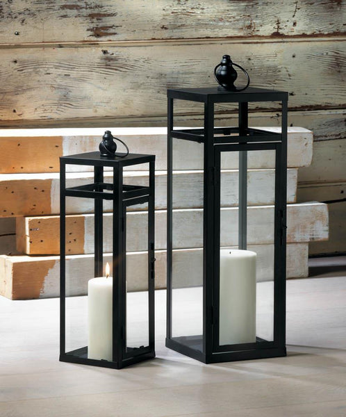 Lanterns-Modern-Geometric-Large-Medium-Black