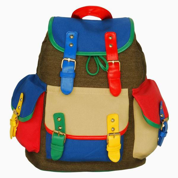 Children's Backpack-School-Daypack-Camping-13.8x10.6x7.5-First Day