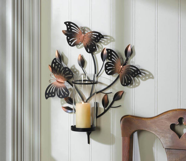 Wall Sconce-Bouncy Butterfly