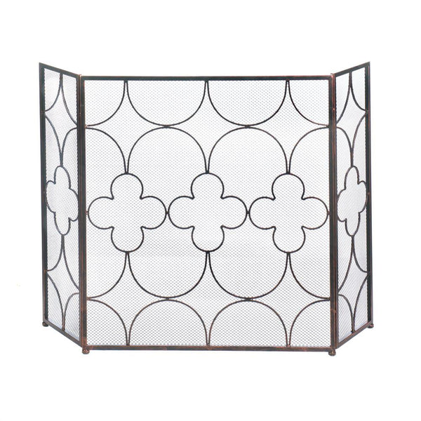 Fireplace Accessories-Screen-Clover