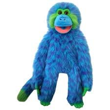 Animal Puppet-Cool Blue-Magic Monkey