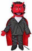 Puppet Ministry-Devil-Glowing Eyes-14 inch Full Body Puppet-Bible Time Collection