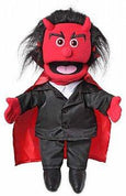 Puppet Ministry-Devil-Glowing Eyes-25 inch-Full Body Puppet-Bible Time Collection