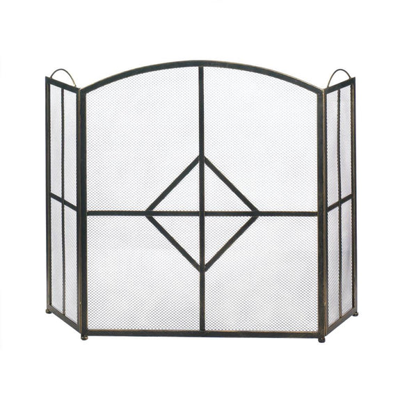 Fireplace Screen-Diamond