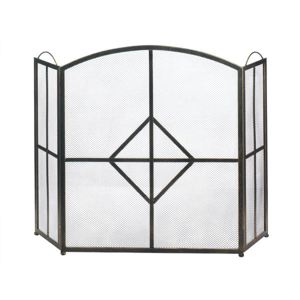 Fireplace Accessories-Screen-Diamond