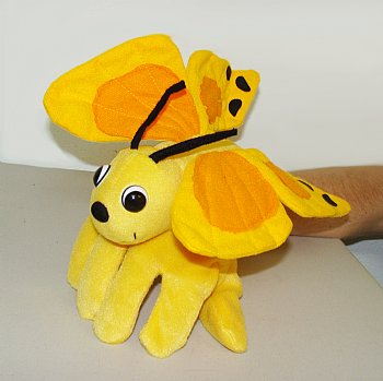 Bug Puppet-Glove-Bella The Butterfly