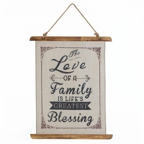 Wall Hanging-Family Love