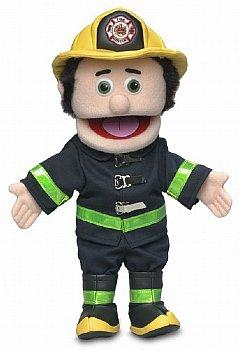 People Puppet-Fireman-14 inch Full Body
