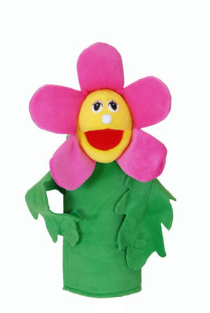 Flower Puppets- With Rods-Penny Flora Flower-Imaginative Children