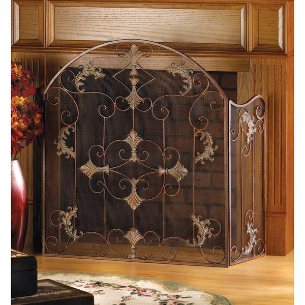Fireplace Accessories-Screen-Florentine