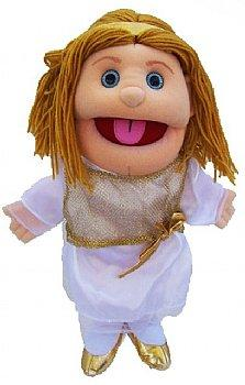 Puppet Ministry-Biblical-14 inch-Full Body-Hand Puppet-Angel