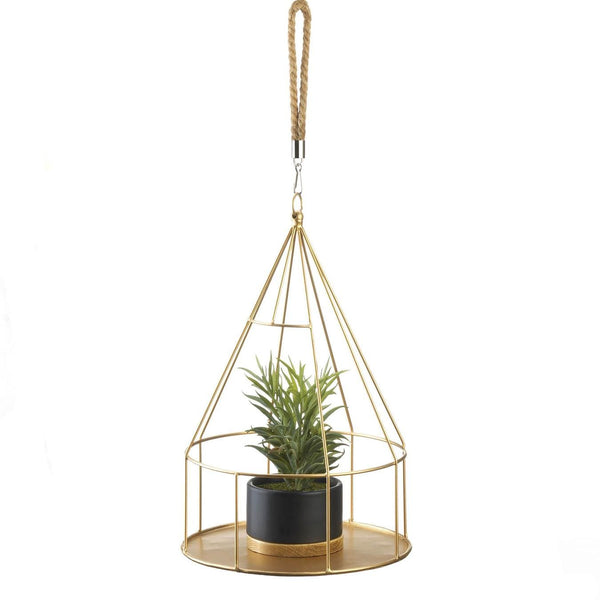 Plant Holder-Hanging-Round Base-Modern-Green Thumb
