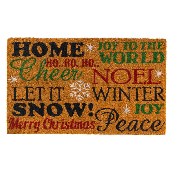 Welcome Mat-Winter-Christmas-Holiday Cheer