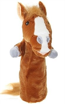 Animal Puppet-Long Sleeved Hand Puppet-Horse