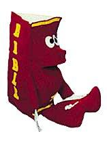 Puppet Ministry-Red Bible Puppet with Legs