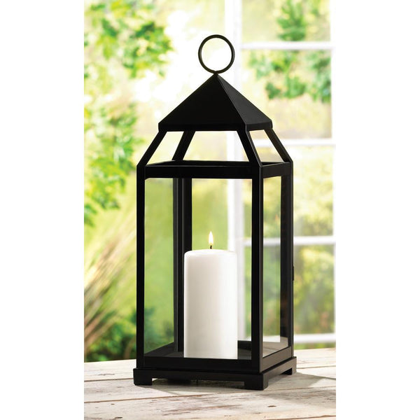 Lantern-Large Contemporary Candle-Cozy Home