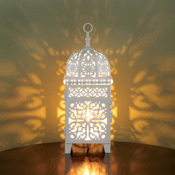 Large Scrollwork Table Lamp - Seasonal Expressions - 1