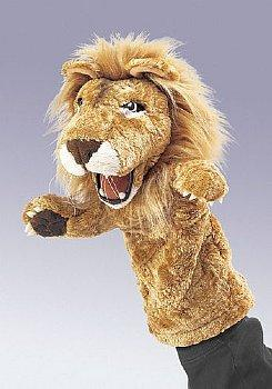 Animal Puppet-Ministry-Lion-13 inch-Stage Hand Puppet